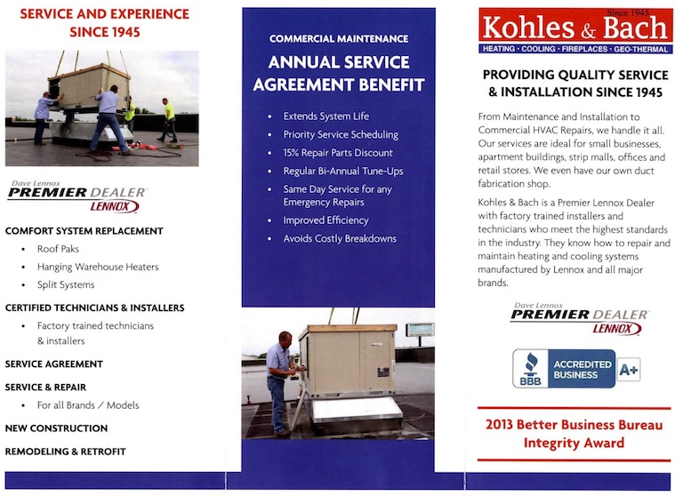 Commercial HVAC Flyer