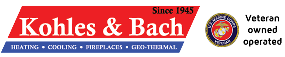 Kohles & Bach Heating & Cooling Logo